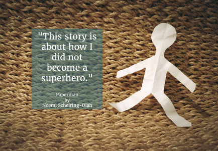 Quote from Paperman, a short story by Noemi Scheiring-Olah on Noemi Writes