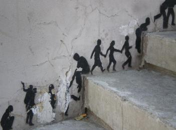 Street art for Noemi's portfolio