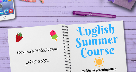Featured image for the English Summer Course short story.